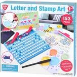Playgo Buchstaben-Stempel Kunst 153 Teile