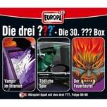 Sony CD Die Drei ??? 030 3er CD-BoxFeuerturmNacht in..