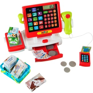 MyToys Supermarktkasse mit Touchscreen inkl. Zubehör