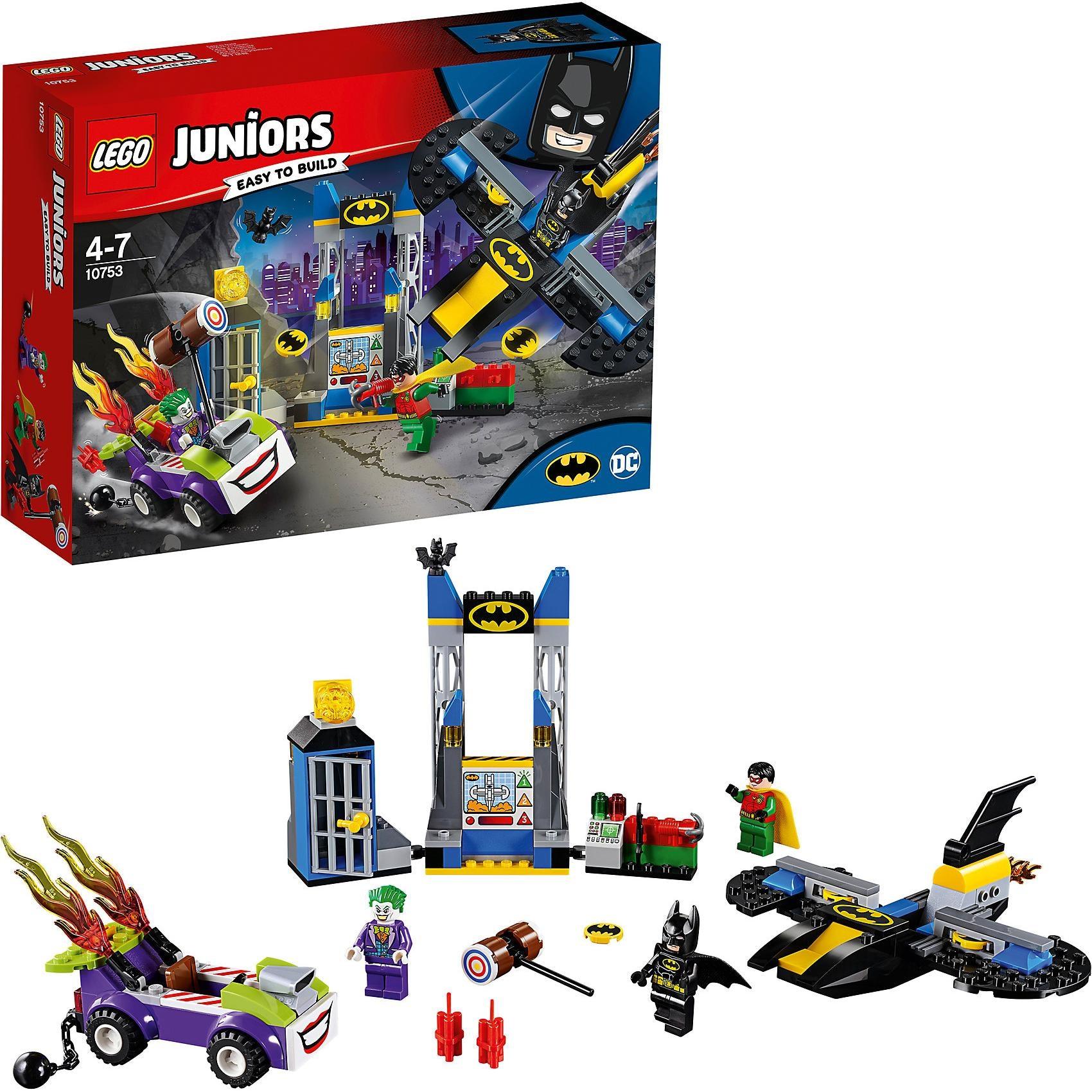 Lego Juniors 10753 Der Joker und die Bathöhle