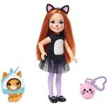Mattel Barbie Chelsea Katzen-Kostüm Puppe