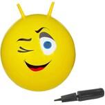 Jamara Hüpfball Eye Gelb 550Mm