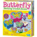 4M Kreativset Schmetterling Schmuckkästchen Butterfly Nesting Trinket Boxes