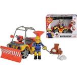 Simba Feuerwehrmann Sam Mercury-Schnee- Quad mit Figur
