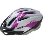 KED Helmsysteme Fahrradhelm Joker weißpink