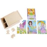 Legler Puzzle-Box 4 in 1 Mädchen im Kostüm