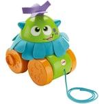 Mattel Fisher-Price Nachziehspielzeug Rollmonster