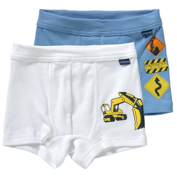 Schiesser Schiesser Hip-Shorts Doppelpack für Jungen