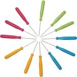 EDUPLAY 310282 Prickelnadeln in 4 Farben, 15 x Ø 0,8 cm, 12-teilig (1 Set)