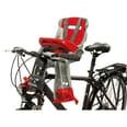 OK Baby Fahrrad-Sicherheitssitz Orion front silbergrau/rot