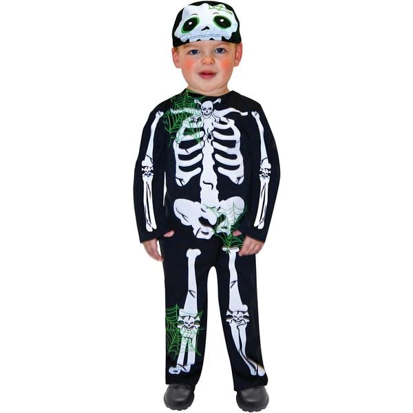 Amscan Kostüm Skeleton Toddler 2-tlg.