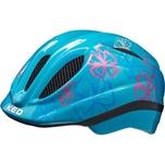 KED Helmsysteme Fahrradhelm Meggy Trend Blumen hellblau