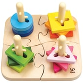 HAPE Kreatives Steckpuzzle 16tlg