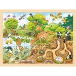 goki Einlegepuzzle Erlebnis Natur
