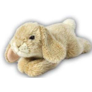 Anna Club Plüsch Kaninchen liegend creme 18cm