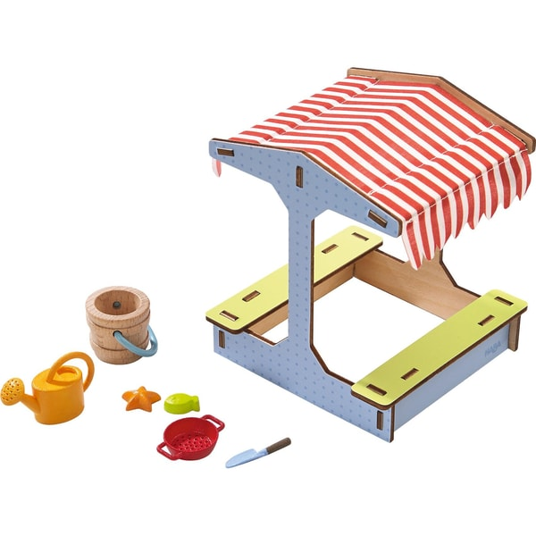Haba 303014 Little Friends Puppenhaus Sandkasten