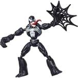 Hasbro Marvel Spider-Man Bend and Flex Venom 15 cm große bewegliche Figur enthält Netz-Accessoire fü