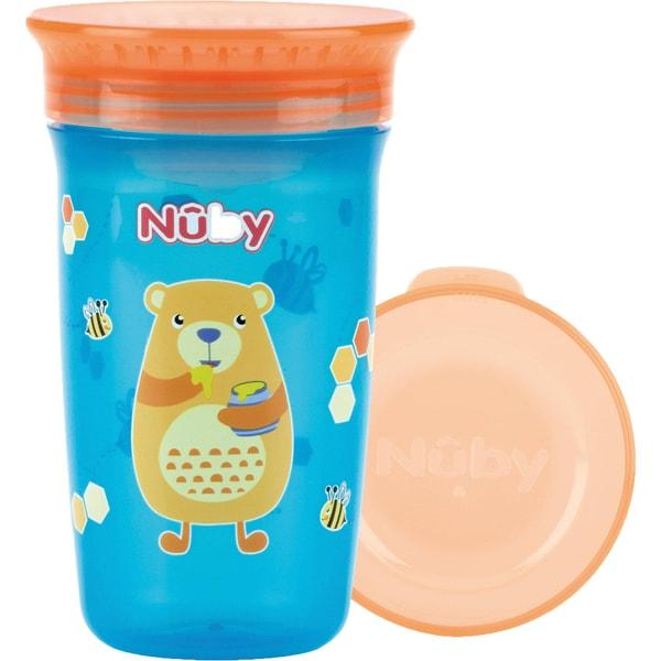 Nuby 360° Trinklernbecher Wonder Cup 300 Ml Aqua Bear