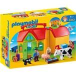 PLAYMOBIL 6962 1-2-3: Mein Mitnehm-Bauernhof