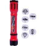 Joy Toy Cars 3 Taschenlampe mit 6 austauschbaren Projektionsmotiven