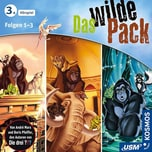 CD Das wilde Pack Hörbox Folgen 1-3