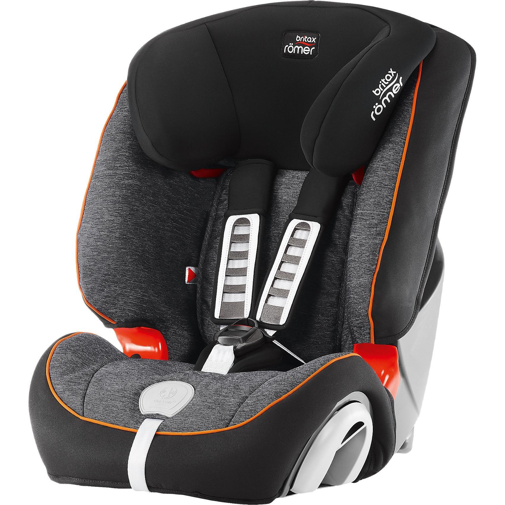 Britax Römer Auto-Kindersitz Evolva 1-2-3 Plus Black Marble 2019