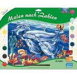 Mammut Spiel Und Geschenk Malen Nach Zahlen Groß Delfine
