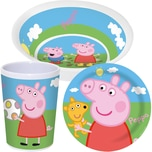 P:Os Kindergeschirr Peppa Pig 3-Tlg