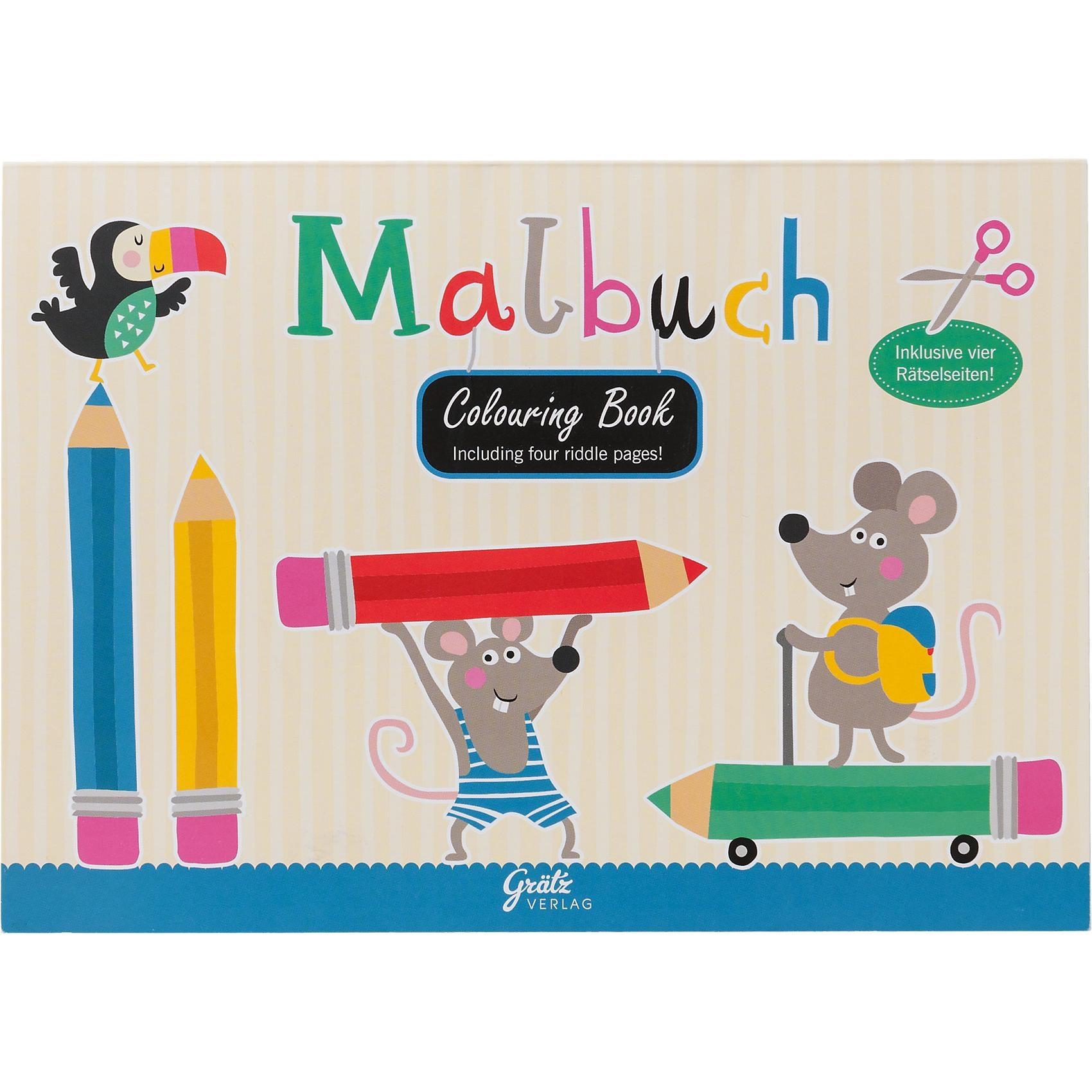 Grätz Verlag Malbuch Schule
