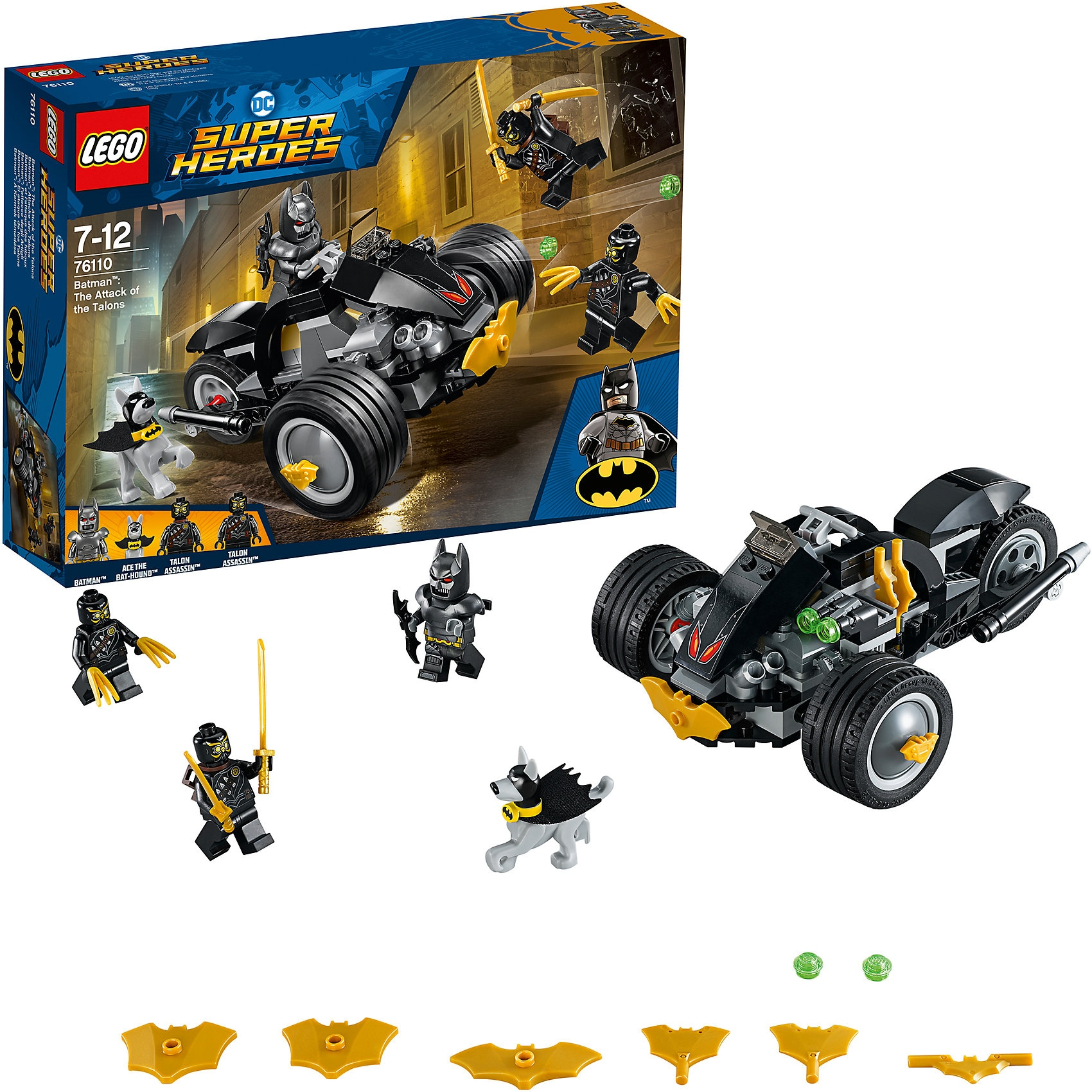 Lego Batman 76110 Attacke der Talons