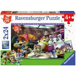 Ravensburger 2er Set Puzzle je 24 Teile 26x18 cm Die Buffycats machen Musik