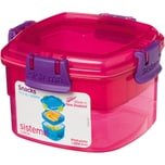 Sistema Snack To Go Pink