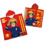 Herding Badeponcho Feuerwehrman Sam 60 x 120 cm