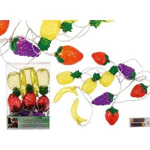 Lichterkette Früchte mit 10 warmweißen LED