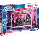 Clementoni Ehrlich Brothers Puzzle 104 Teile