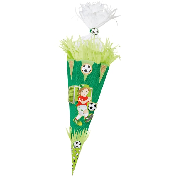 Folia Bastelset Schultüte Fußball 70 cm