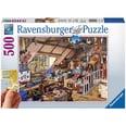 Ravensburger Puzzle 500 Teile 61x46 cm Gold Edition: größere Teile Großmutters Dachboden
