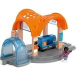 BRIO Smart Tech Sound Bahnhof mit Action Tunnel