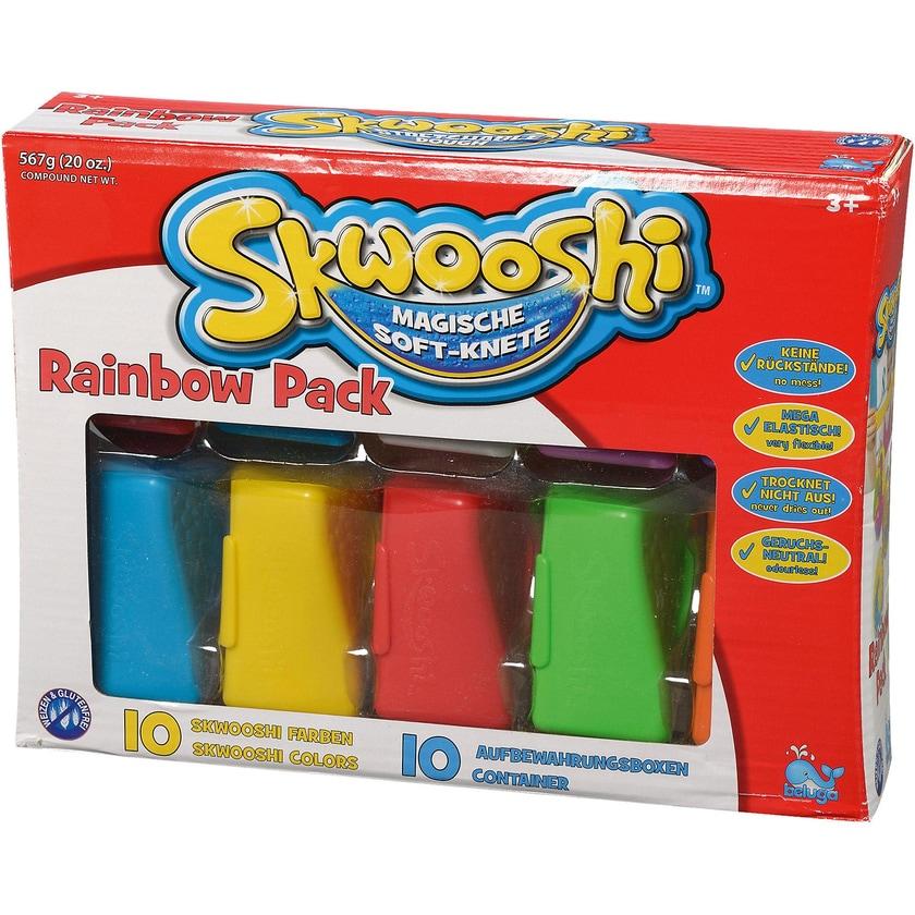 Beluga Skwooshi Soft-Knete Rainbow Pack