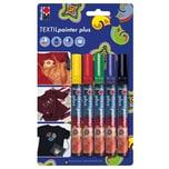 Marabu Textilstifte für dunkle Stoffe 5 Stück