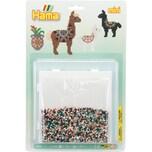Hama Perlen 5618 Blister Alpakas 5.000 Mini-Perlen Zubehör