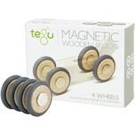 TEGU TEGU 5700335 Magnetische Räder 4 Stk.