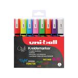 uni-ball Chalk Kreidemarker 18-25 mm 8 Farben