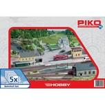 Piko Spur H0 Bahnhof-Set 5tlg.