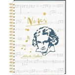 Coppenrath Ringbuch DIN A4 - Notes - All about music - Edition Beethoven