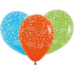 Happy People Luftballons ABC-123 5 Stück