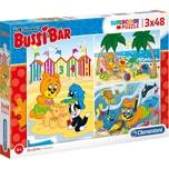 Clementoni Puzzle 3 x 48 Teile Bussi Bär