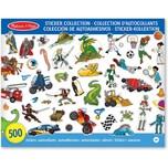 Melissa & Doug Stickersammlung - Dinosaurier Fahrzeuge Weltraum und mehr