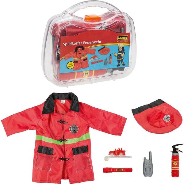 Idena Idena Spielkoffer Feuerwehr