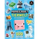 Schneiderbuch Minecraft Stickerbuch Tierwelt